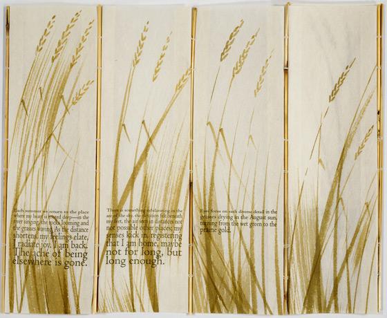 artist book image: sweet grass