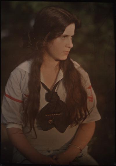 Photo of Katherine Stieglitz by Alfred Stieglitz.