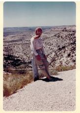 Alison Laing desert overlook