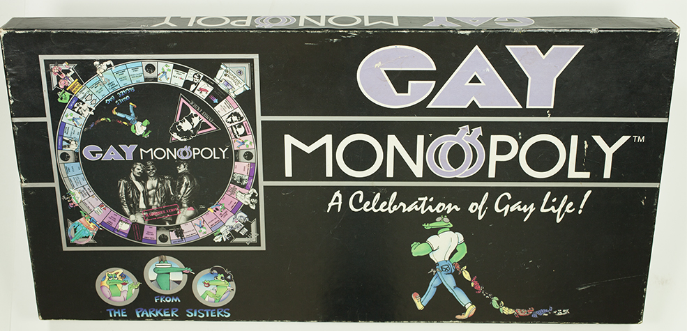 gay Monopoly board game