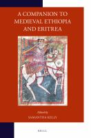 Image of book cover : A Companion to medieval Ethiopia and Eritrea