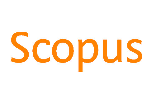 """Scopus logo. Reads """"Scopus"""" in orange letters with a white background."""