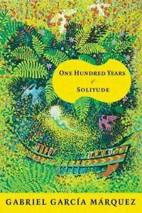 Book cover of 100 Years of Solitude by Gabriel García Márquez