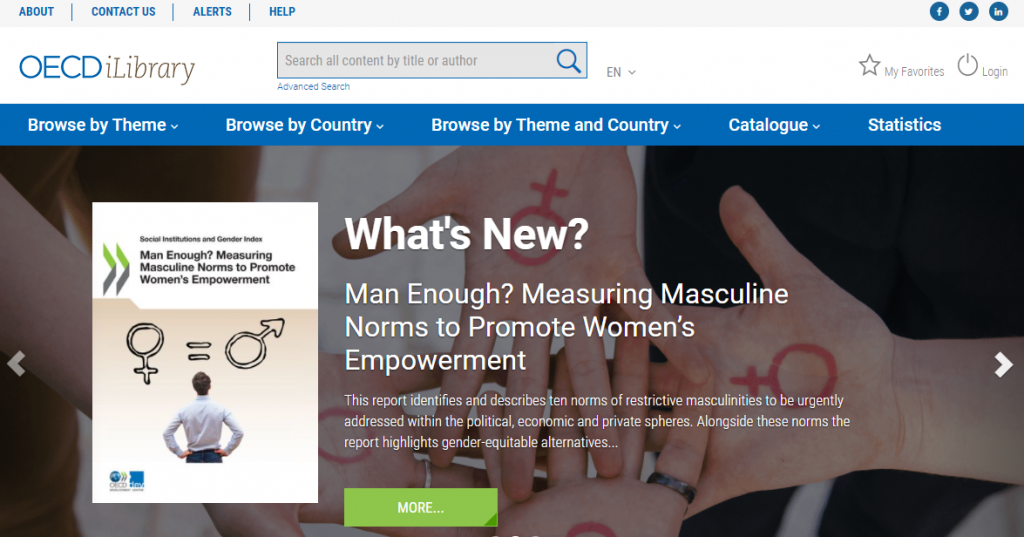 OECD iLibrary website image