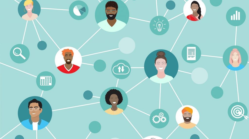 Positive networks of diverse support disrupt negativity