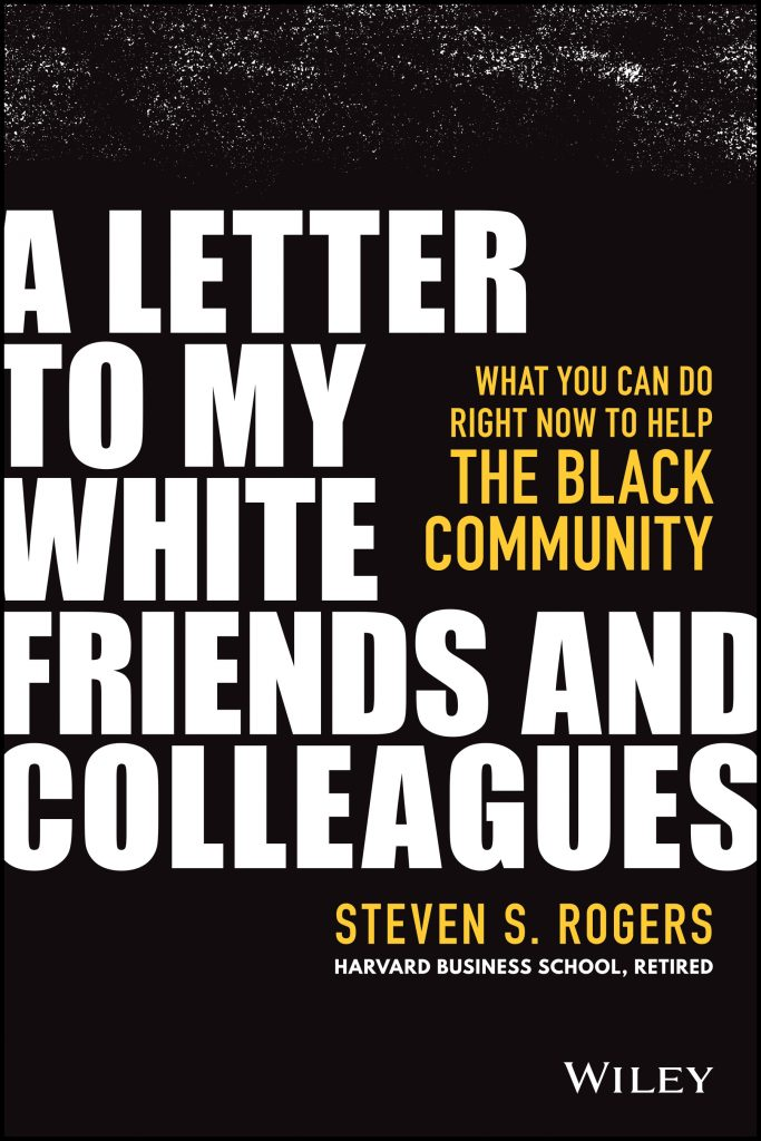 A Letter to my White Friends and Colleagues, book cover