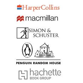 Big Five publishers logos