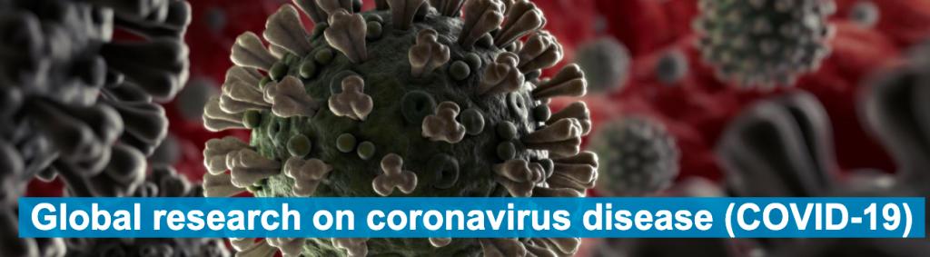 Global Literature on Coronavirus Disease (COVID-19) World Health Organization screenshot