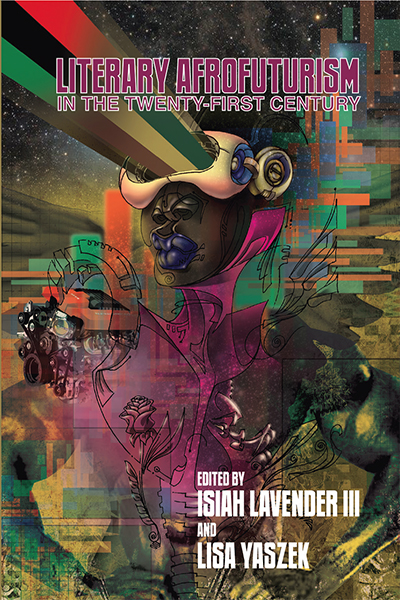 Literary Afrofuturism in the Twenty-First Century book cover.